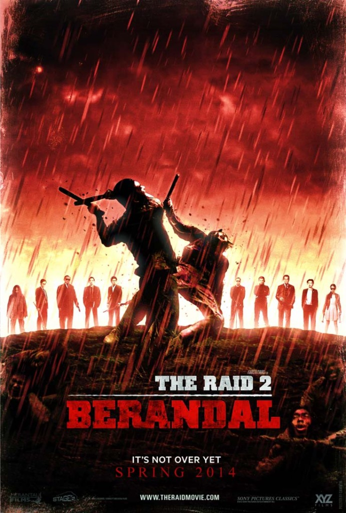 The Raid 2 - poster