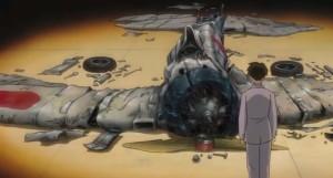 The Wind Rises - Jiro Horikoshi, downed Zero