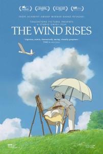 The Wind Rises - poster, Miyazaki