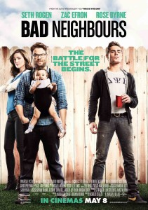Bad Neighbors - Seth Rogen, Zac Efron, Rose Byrne poster