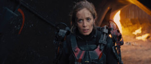 Edge of Tomorrow - Emily Blunt, battlefield