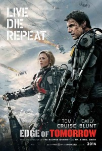 Edge of Tomorrow - Tom Cruise, Emily Blunt - poster