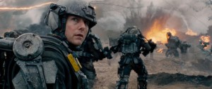Edge of Tomorrow - Tom Cruise, battlefield