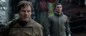 Godzilla 2014 - Bryan Cranston, Aaron Taylor-Johnson