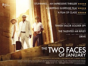 The Two Faces of January - Kirsten Dunst, Viggo Mortensen, Oscar Issac poster