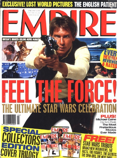 Empire 25 feature - Star Wars covers