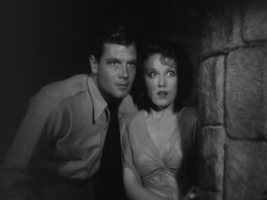 The Most Dangerous Game - Fay Wray, Joel McCrea, dungeon
