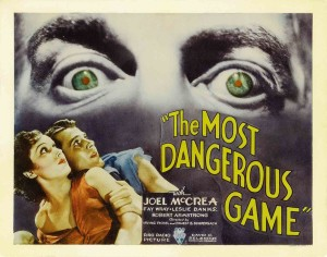 The Most Dangerous Game - poster, Fay Wray