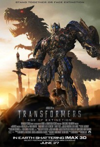 Transformers - Age of Extinction - poster
