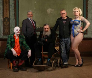 FrightFest 2014 - Alan Moore, Mitch Jenkins, Khandi Khisses, Show Pieces