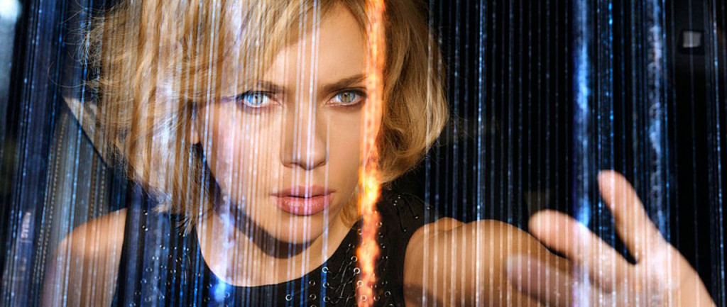 Lucy - Scarlett Johansson, Matrix-o-vision