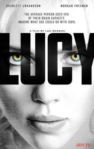 Lucy - Scarlett Johansson, poster