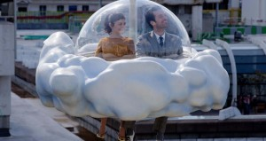 Mood Indigo - Audrey Tautou, Romain Duris, cloud ride