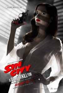 Sin City - A Dame to Kill For - Eve Green, banned poster