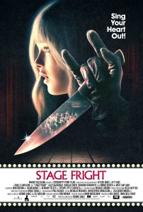 Stage Fright - Allie MacDonald, Minnie Driver, Meat Loaf, poster