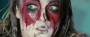 Stage Fright - Allie MacDonald, kabuki make-up