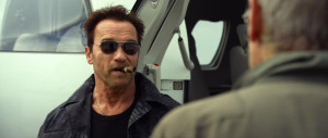 The Expendables 3 - Arnold Schwarzenegger, Harrison Ford