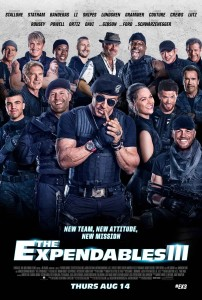 The Expendables III poster