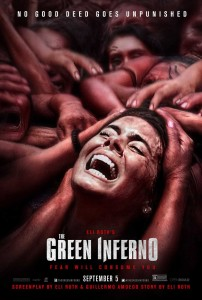 The Green Inferno - poster, Lorenza Izzo