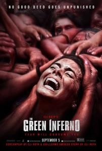 The Green Inferno - poster, Lorenza Izzo