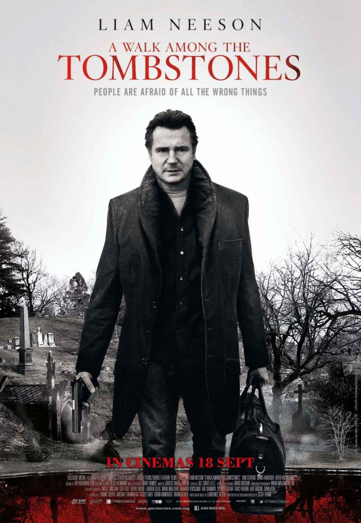 A Walk Among The Tombstones - Liam Neeson, poster