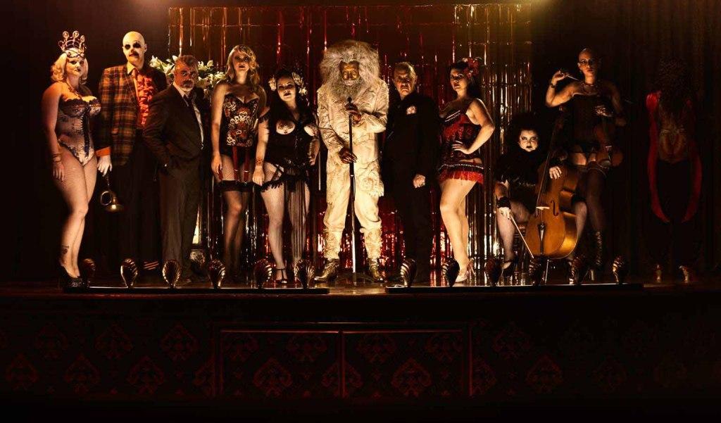 Alan Moore & Mitch Jenkins Q&A - Show Pieces cast, Siobhan Hewlett, Darrell D'Silva, Andrew Buckley, Khandie Khisses