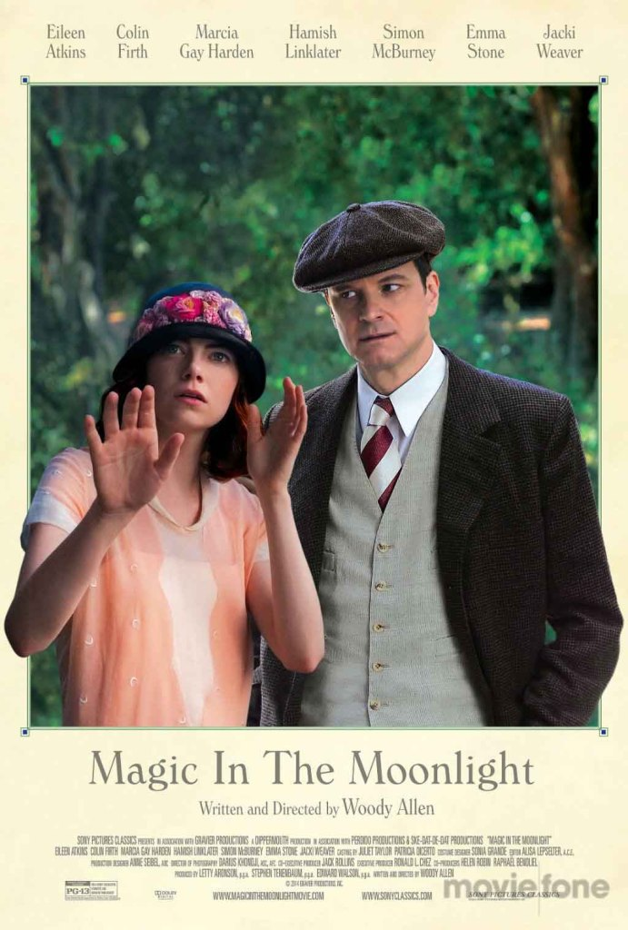 Magic in the Moonlight - poster - Woody Allen, Colin Firth, Emma Stone