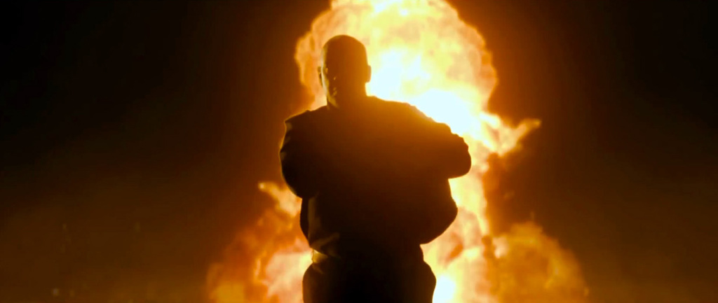 The Equalizer - Denzel Washington, explosion