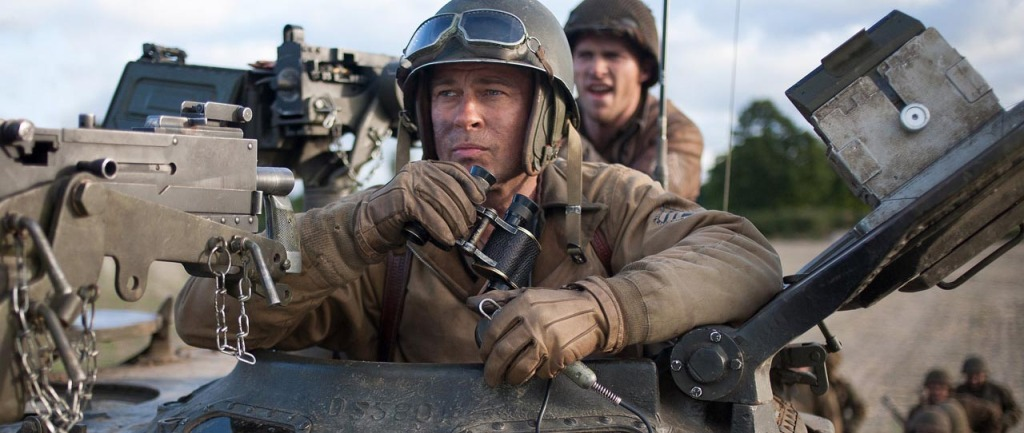 Fury - Brad Pitt in Sherman tank