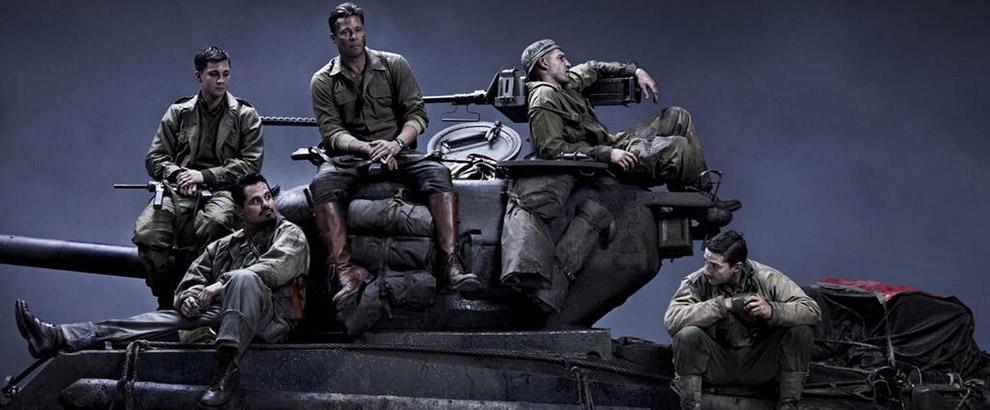 Brad Pitt Talks Fury