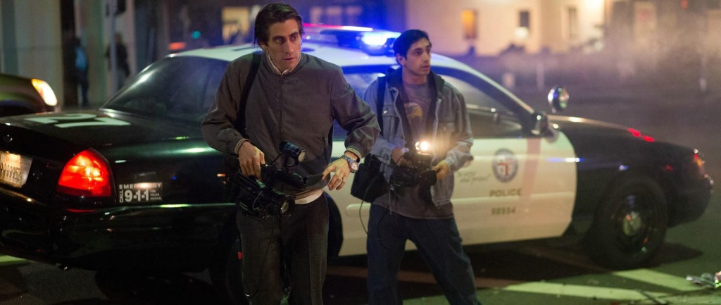 Nightcrawler - Jake Gyllenhaal, Riz Ahmed, police car
