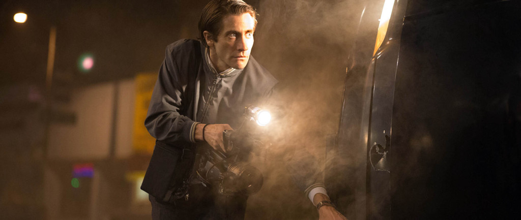 Nightcrawler - Jake Gyllenhaal, car crash filming
