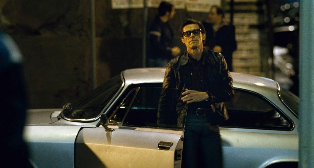Pasolini - Willem Dafoe, sports car