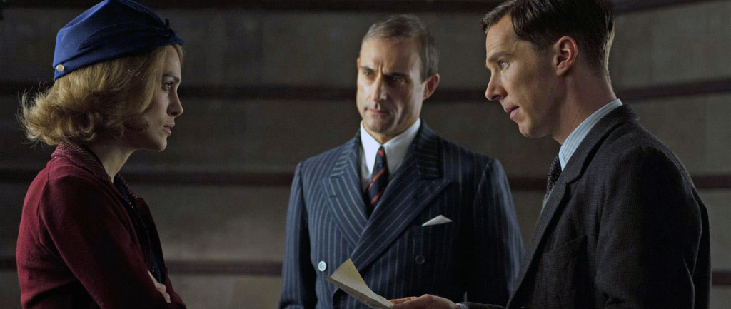 The Imitation Game - Benedict Cumberbatch, Keira Knightley, Mark Strong