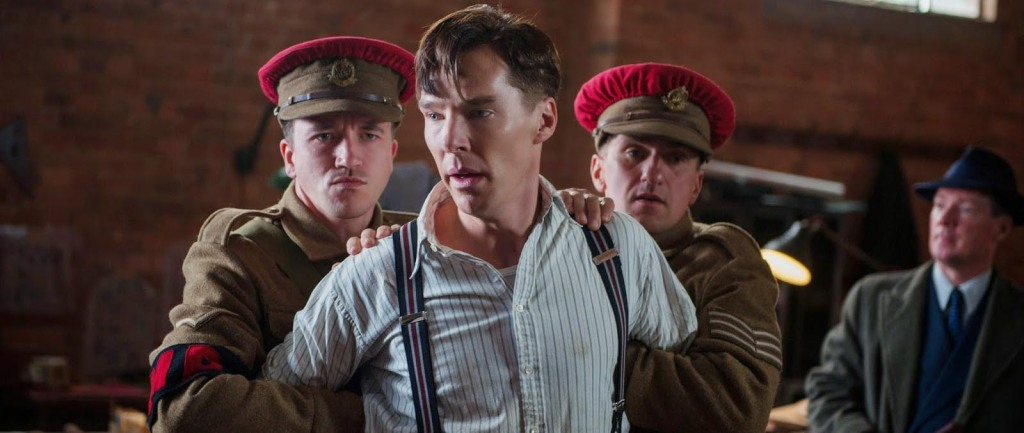 The Imitation Game - Benedict Cumberbatch, restrained