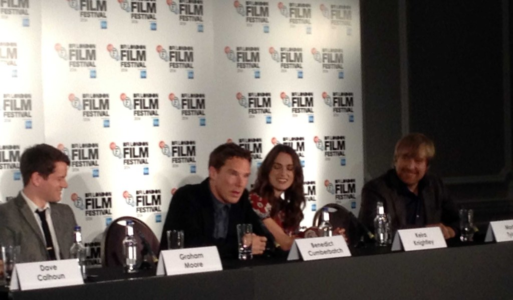 The Imitation Game Press Conference - Benedict Cumberbatch, Keira Knightley, Graham Moore, Morten Tyldum