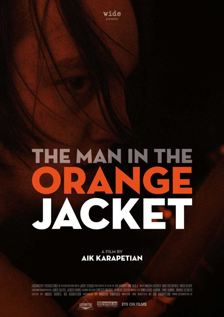 The Man in the Orange Jacket - poster
