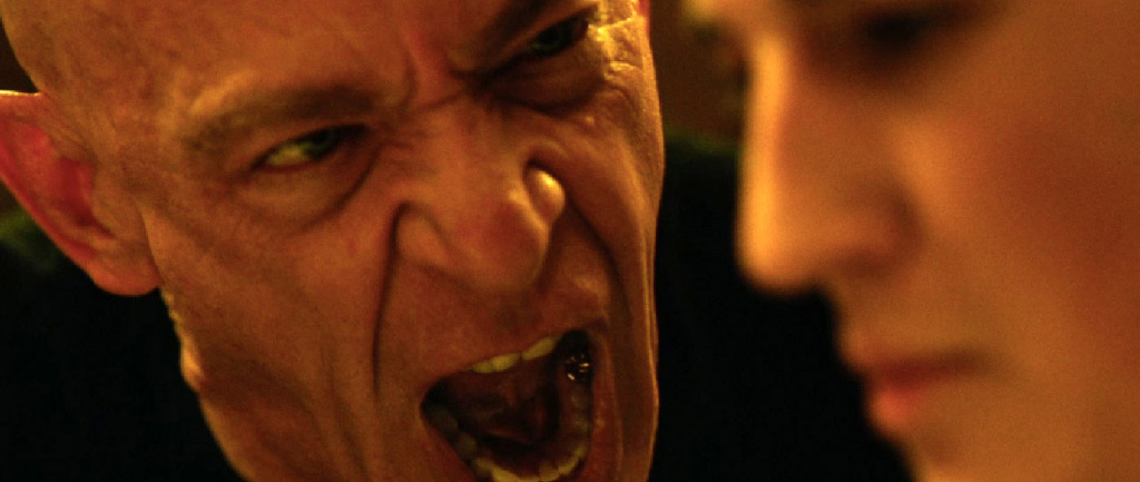 Whiplash - Miles Teller, JK Simmons screaming