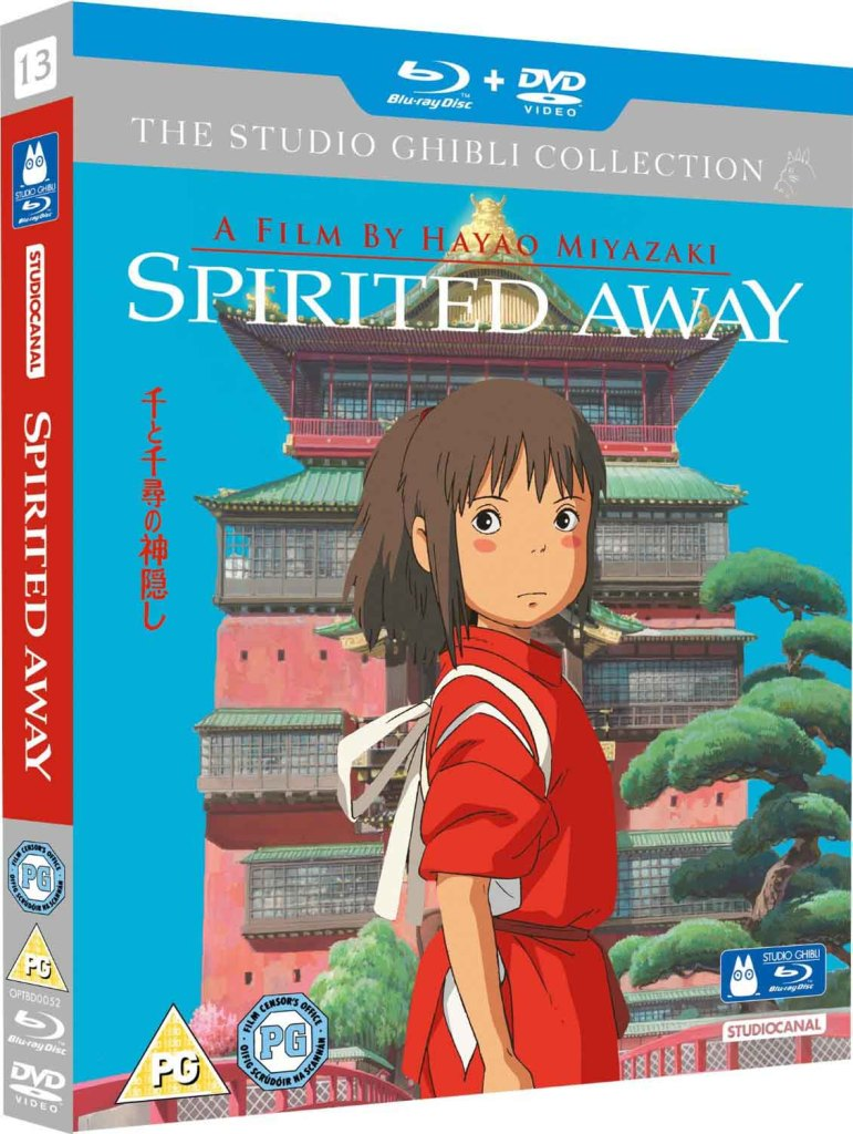 Spirited Away - Blu-ray cover art