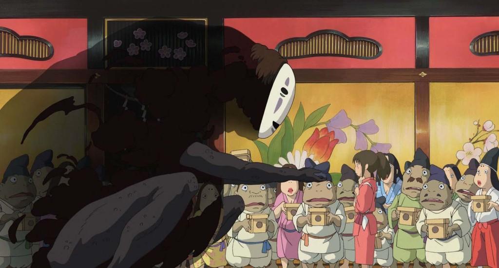 Spirited Away - Chihiro, No Face