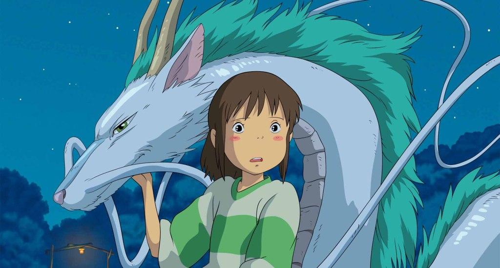 Spirited Away - Chihiro, dragon