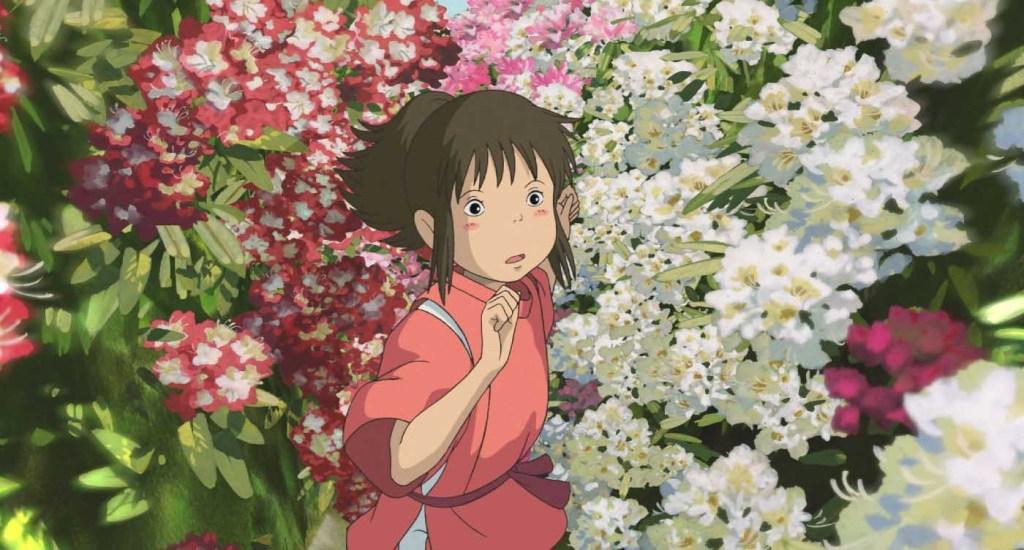 Spirited Away - Chihiro, flowers