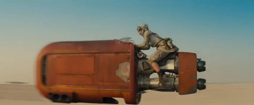 Star Wars trailer reaction - Daisy Ridley