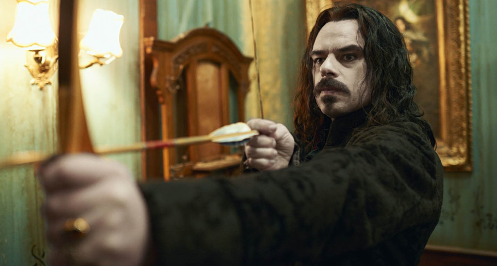 What We Do In The Shadows - Jemaine Clement, bow, arrow