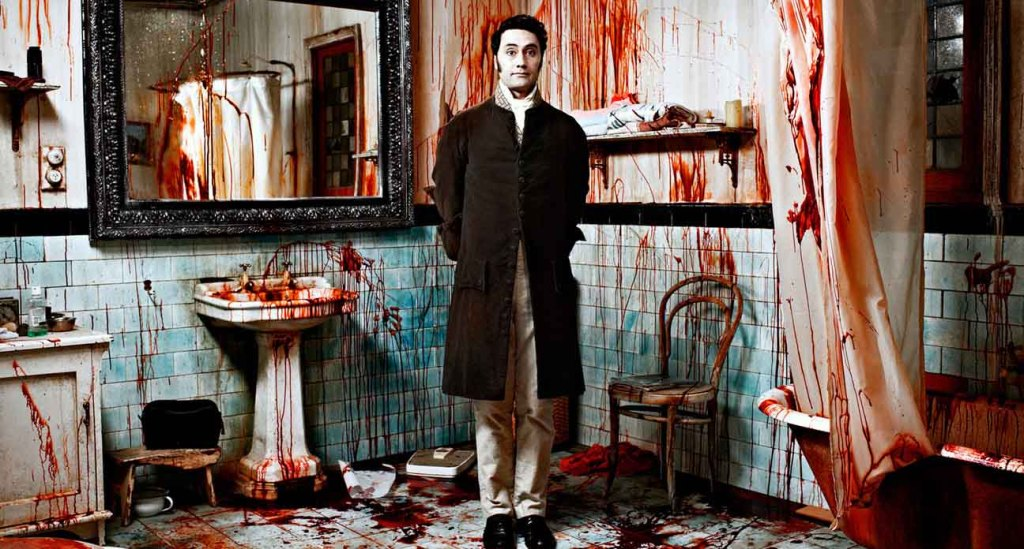 What We Do In The Shadows - Taika Waititi, bloody bathroom