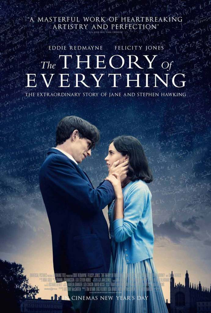 The-Theory-of-Everything---Eddie-Redmayne,-poster