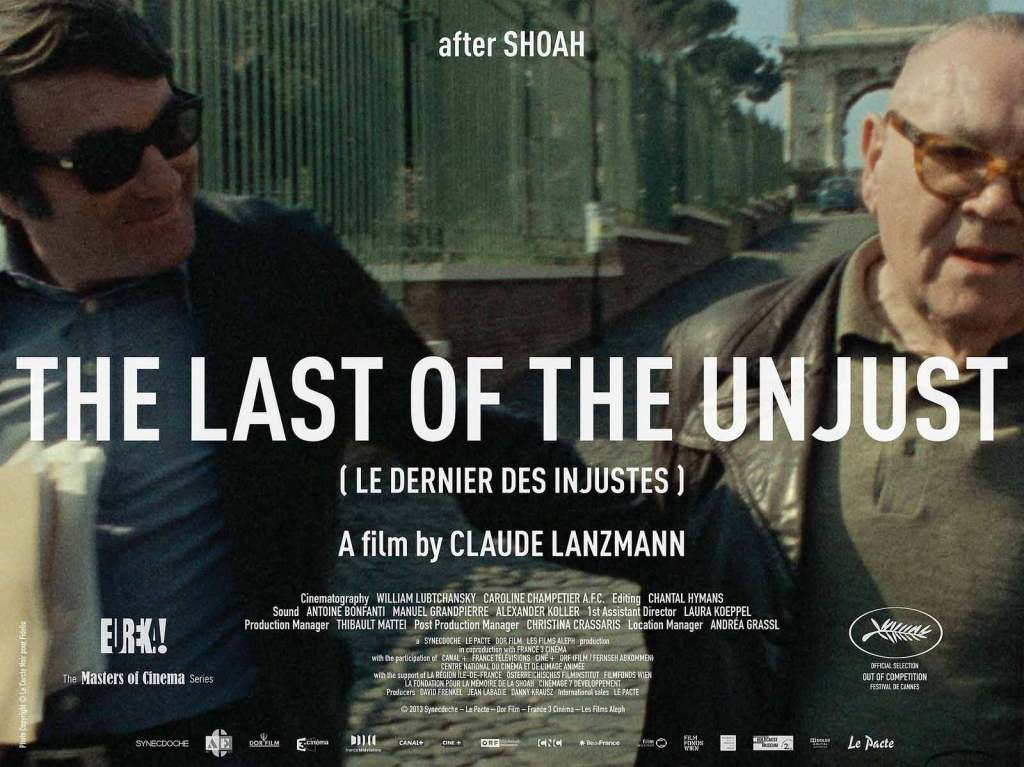 The-Last-of-the-Unjust---Claude-Lanzmann,-poster