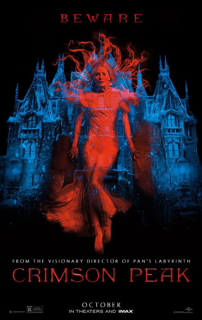 Crimson-Peak---poster,-Mia-Wasikowska,-Guillermo-del-Toro