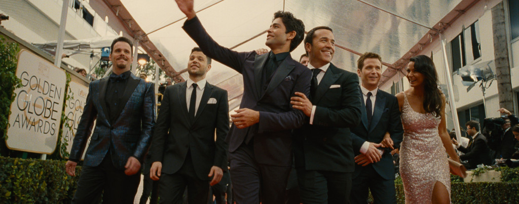 Entourage-movie---Adrian-Grenier,-Kevin-Connolly,-Kevin-Dillon,-Jerry-Ferrara,-Jeremy-Piven,-Emmanuelle-Chriqui