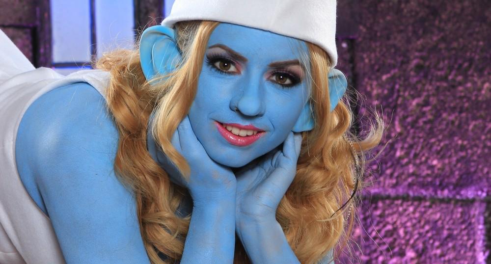 Porn-Again---Lexi-Belle,-Smurfs